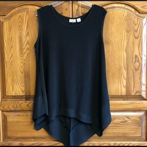 Fit and flare tank